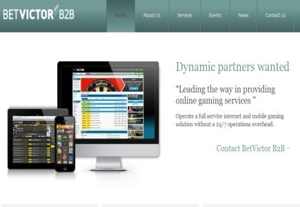 New B2B Site by BetVictor