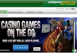 Paddy Power Launches New Mobile Casino
