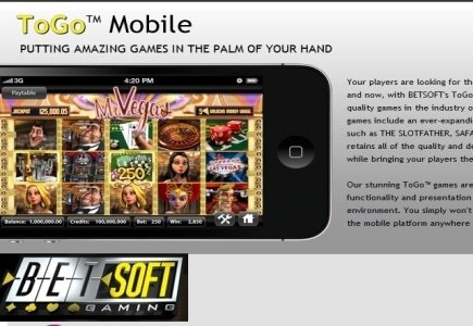 Betsoft Adds More Slots to Its ToGo Mobile Portfolio