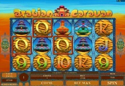 Arabian Caravan - Latest Slot Game From Genesis