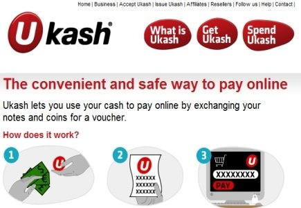 Cardless Cash Available @ Ukash?