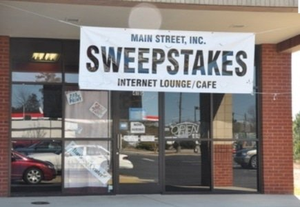 Internet Sweepstakes Cafes Raids in Ohio