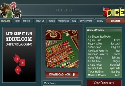 3Dice Casino to Feature New Slot from Angle Gaming Studios