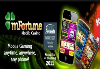 mFortune Awarded 'Best Mobile Casino Operator' at 2013 mGaming Summit