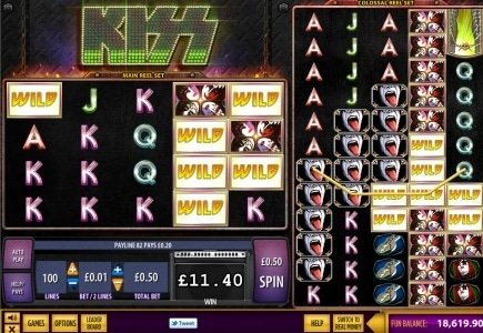 Williams Interactive Presents KISS – Branded Online Slot