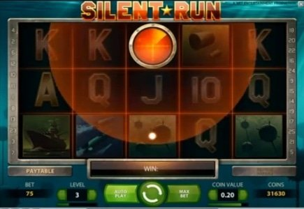 "New Slot ""Silent Run"" Brings Lucky Vera&John Player Euro36,032"