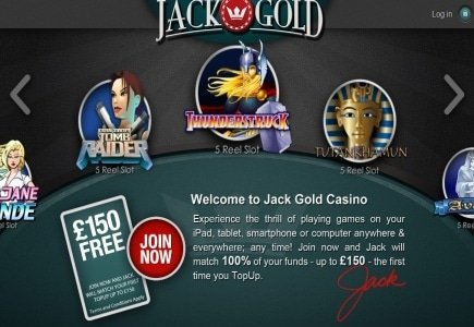 Live Dealer Action Now Available at Jack Gold Casino!