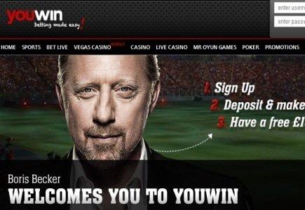 Boris Becker Promotes YouWin!