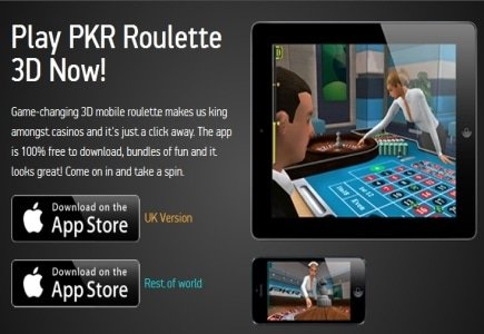 Real-Money Roulette Mobile App from PKR Hits the Market!