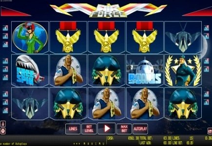 World Match Launches Air Force Online Slot