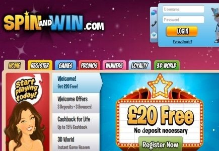 New Big Wins & Promos @ Spin and Win Casino