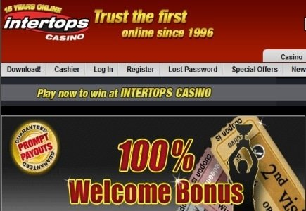 Second Jackpot in Less Than a Year for Intertops Player
