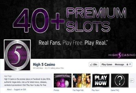High 5 Gaming Launches 50th Social Slot