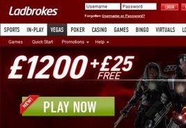 Ladbrokes Presents New Vegas Tab