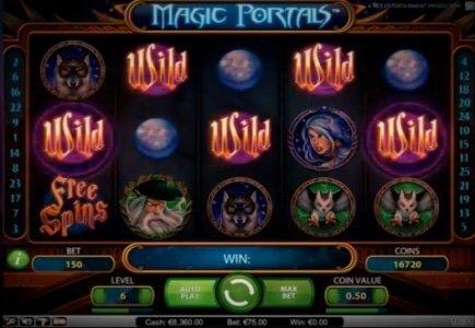 NetEnt Releases Magic Portals