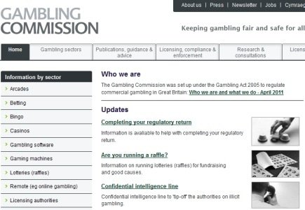 Consumer Opportunity to Address UK Gambling Commission