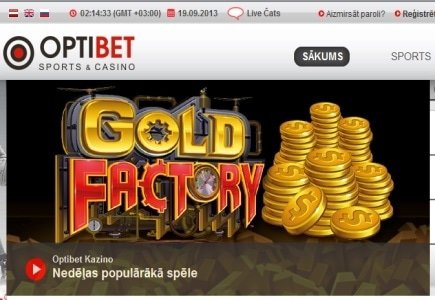 Optibet to Feature Medialivecasino Games