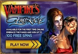 WMS' Vampire's Embrace Exclusive to Jackpot Party