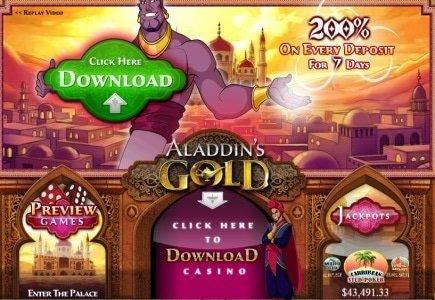 Aladdin's Gold Casino Players Wins $420k