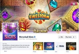 Firestorm Launches on Mirrorball Slots