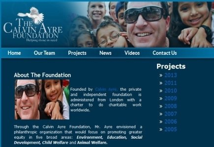 The Calvin Ayre Foundation Supports Philippines Relief Efforts