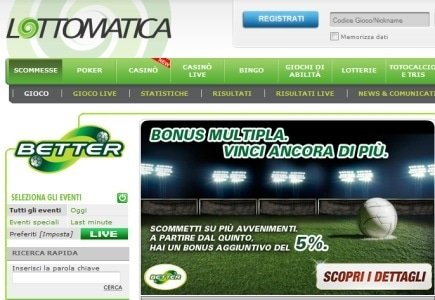 Lottomattica Italy to Feature World Match Slot Games
