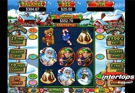 Intertops Launches Santastic Slot Game