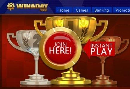 WinADay's December Slots Tournaments