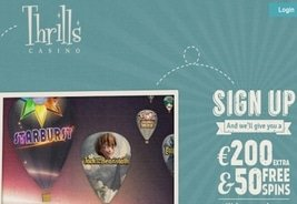 Thrills Casino to Add Play 'N Go Content