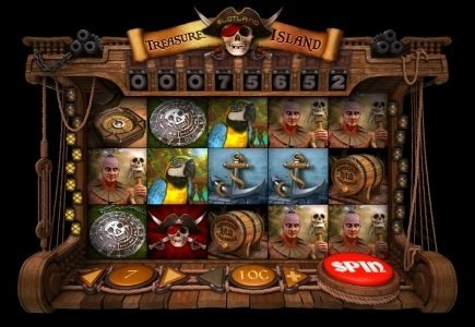 Slotland's Treasure Island Slot Now Live