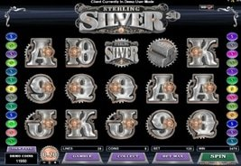 Sterling Silver 3D Available at GR88 Casino