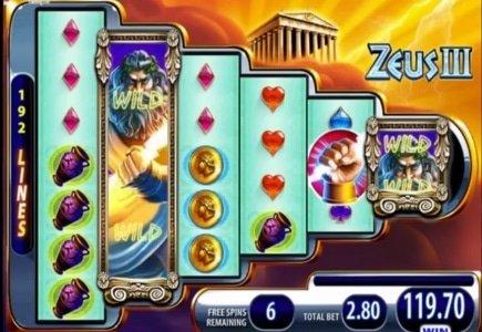 WMS Launches Zeus III Online