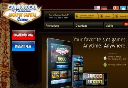 Jackpot Capitals Adds Blackjack to Mobile Casino