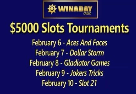 Exciting February at WinADay Casino