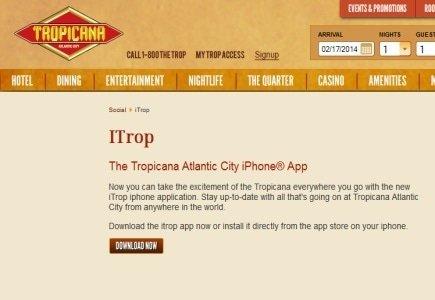 New Mobile App from Tropicana Atlantic Casino & Resort