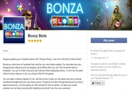 Bonza Gaming Launches First Real Money Mobile App