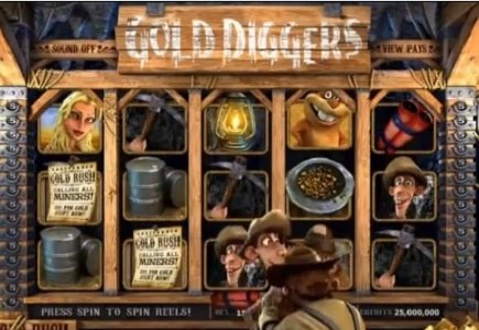 BetSoft Releases More Gold Diggin'