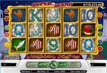 NetEnt's Arabian Nights Pays Euro 3.3M Jackpot