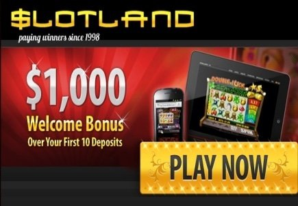 Slotland's First Mobile Jackpot Win!