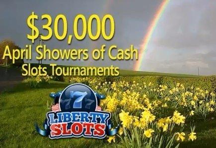 April Showers of Cash at Liberty Slots