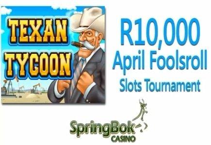 Springbok Casino's April Foolsroll Slots Tournament