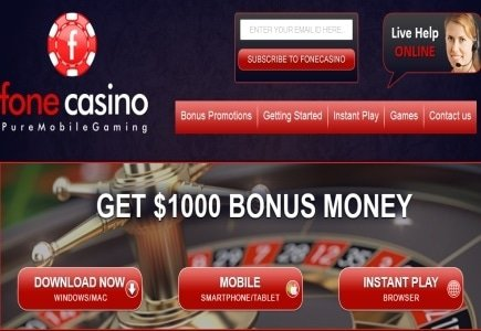 Fone Mobile Casino to Launch Online