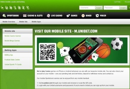Unibet Launches New Poker and Casino Applications