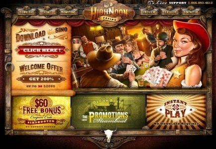 $500K March Win for High Noon Casino Player