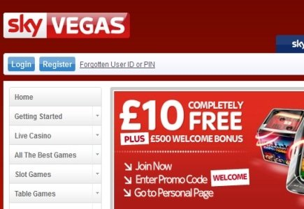 NetEnt Games Live on Sky Vegas