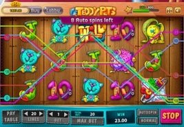 New Social Gaming Slot Teddy Pets Launches