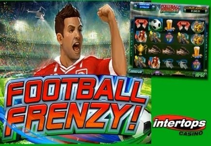 Intertops Casino Launches New Football Frenzy Slot with Free Play Opportunities