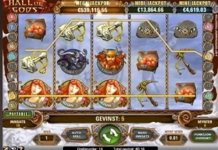 Net Entertainment Awards Second Largest Jackpot in Sweden
