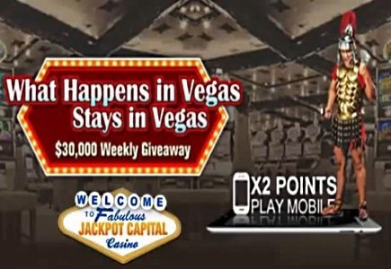 "Jackpot Capital Casino Keeps on Giving with ""What Happens in Vegas"""