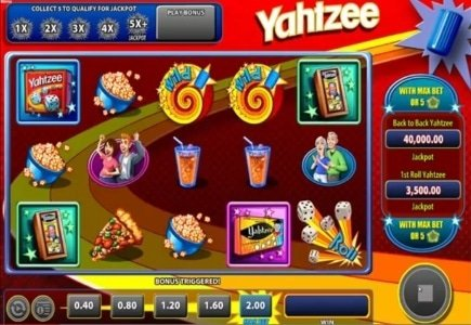 WMS Launches Yahtzee Slot Game